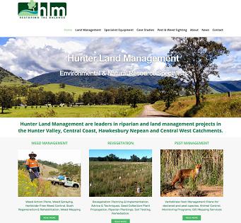 HLM website screenshot