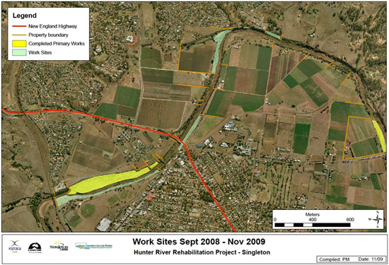 Hunter River rehabilitation project