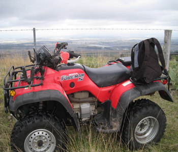 quadbikes land management specialist equipment