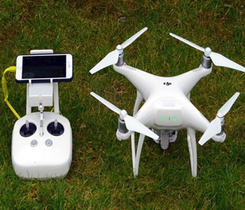 phantom 4 drone for aerial survey and mapping